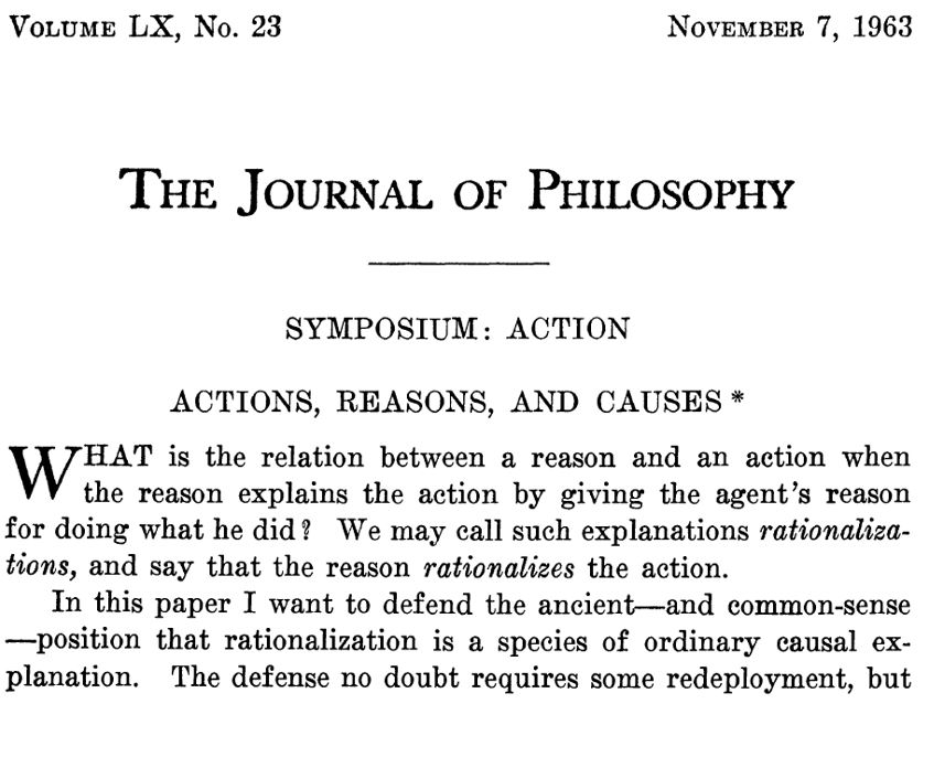 Are routine actions rational?