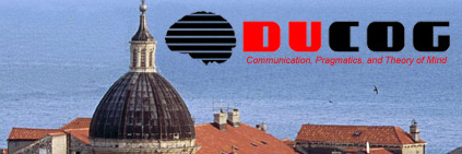 X. Dubrovnik Conference on Cognitive Science, 24-27 May 2018